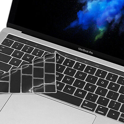 """2018-NEWEST Soft Silicone Keyboard Cover Skin for MacBook Pro 13"""" 15"""" Touch Bar"""