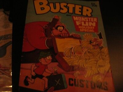 buster & monster fun holiday special comic 1984