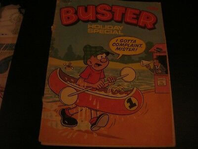 buster holiday special comic 1981
