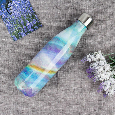 New 500ML Double Walled Vacuum Insulated Stainless Steel Water Drinks Bottle