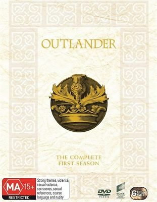 N14 BRAND NEW SEALED Outlander : Season 1 (DVD, 2015, 6-Disc Set)