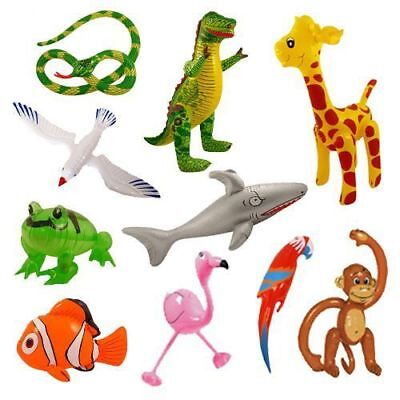 Fun Inflatable Animals Kid's Birthday Fancy Dress Party Animals Fishes Gift Toy