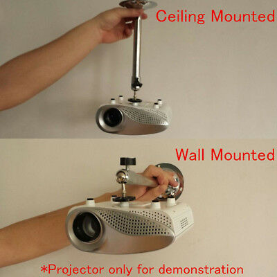 Universal Mini LCD DLP Projector Ceiling Wall Mount Bracket Holder Stand Hot #