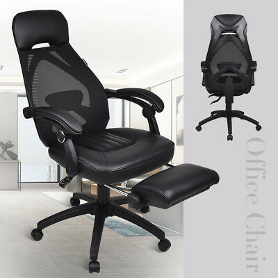 Executive Mesh Back Office Gaming Chair Adjustable Computer Desk Task Recliner