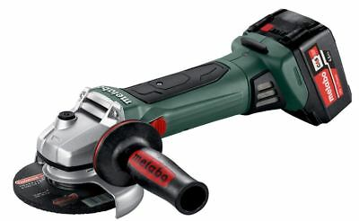 Metabo W 18 LTX 125 Quick Cordless Angle Grinders Body Only With Carry Case