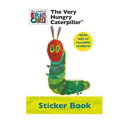 Alligator Publishing A4 sized The Very Hungry Caterpillar Sticker Book.