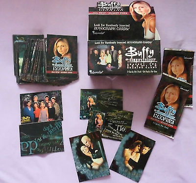 BUFFY the Vampire Slayer Trading Cards komplett SET mit Special Cards