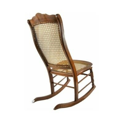 Antique Rocking Chair with Cane