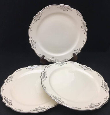 Virginia Rose by Homer Laughlin Dinner Plates (set of 3) - Antique China