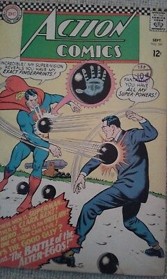Dc Comics Action Comic  1966