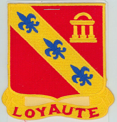 25th Infantry Division 319th Field Artillery Patch