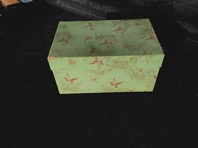 1940's Abercrombie & Fitch Cardboard Box Antique Vintage clothing sporting goods