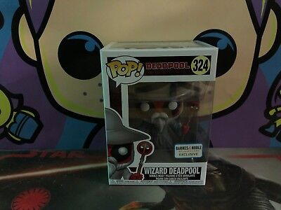 Funko POP! Marvel Wizard Deadpool #324 Barnes and Noble B&N Exclusive