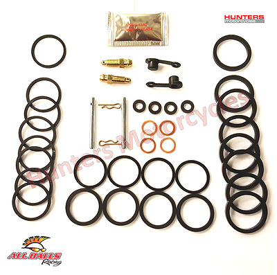 Suzuki GSX1300 Hayabusa Front Brake Caliper Seals Repair Kit x 2 (1999 to 2007)