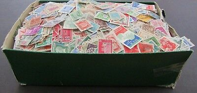 Vast Collection Of Stamps In Old Shoebox - All World/all Periods - Est 17,000+