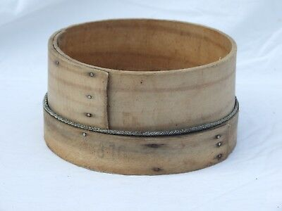 Vintage Wooden Flour Sieve Traditional Sifter Kitchenalia