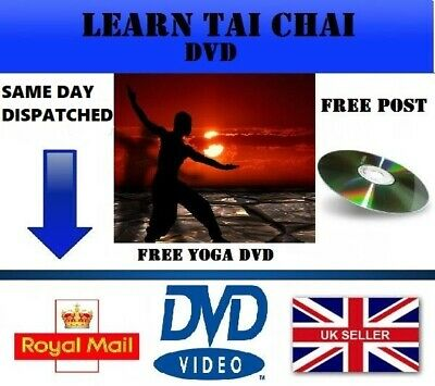 Tai Chi Exercise Dvd For Beginners Fitness Relaxation Health