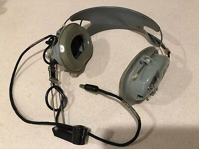 David Clark Astrocom Aviation Headset With Carrying Case