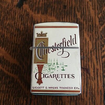 Vintage Chesterfield Continental Cigarette Lighter With Box 750