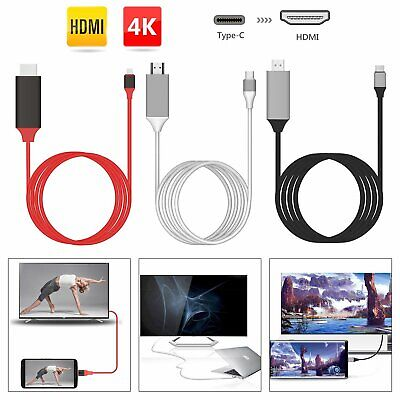 Adaptateur USB-C Type-C vers HDMI HDTV 4K Pour Samsung S9 S8 + Note 8 9 Huawei