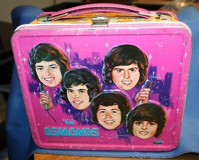 Vintage the Osmonds lunch box