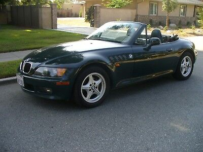 1997 BMW Z3 GREEN Beautiful California Rust Free BMW Z3 Converetible  Special Order Color Combo