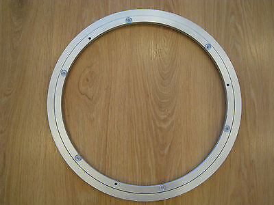 "24"" 600Mm Lazy Susan 16Mm Thickness Rotating Aluminium Turntable Bearing Uk"