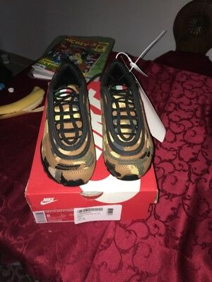 b1ab98d889f ... new images of e7744 50963 Nike Air Max 97 OG Metallic Gold Italian Flag Italy  Gold ...