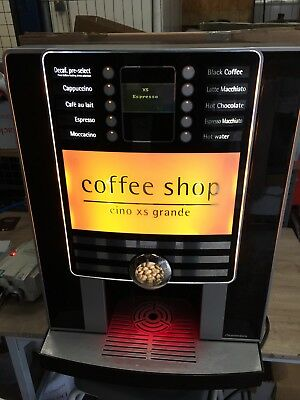 Rheavendors Cino XS Grande Bean To Cup Commercial Hot Drinks Coffee Machine