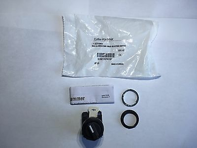 New Eaton Cutler Hammer E22XB51 Two Position Selector Switch Lot of 2 switches