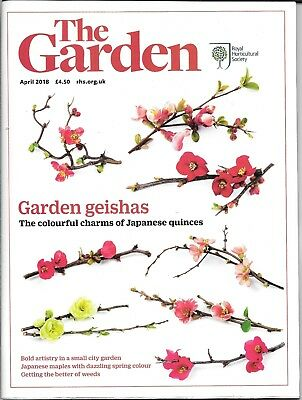 RHS THE GARDEN Magazine - APRIL 2018