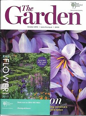 RHS THE GARDEN Magazine - October 2016