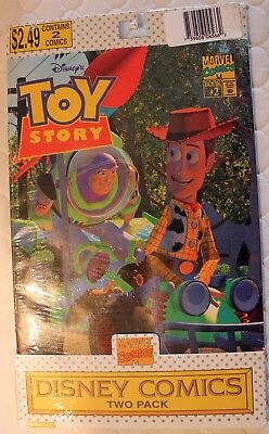 Toy Story Rare 1995 Marvel Comics Two Pack: Book #1 and #2!