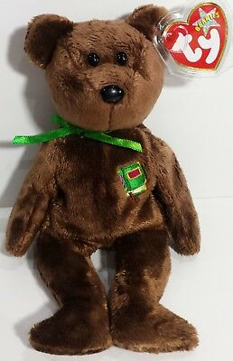 b5d494cceaf TY Beanie Baby - WILLIAM the Bear  (Closed-Book Version - Europe Excl