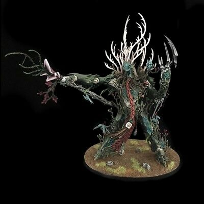 Sylvaneth Treelord Ancient Warhammer Age Of sigmar PDF Painting Tutorial Eng/Esp