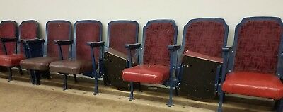 38 Vintage Movie Theater Chairs