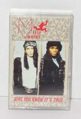 Milli Vanilli - Girl You Know It's True - Cassette Tape Arista RARE Out of Print