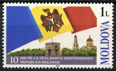 Moldova 2001 SG#403, 10th Anniv Of Independence MNH #D81340