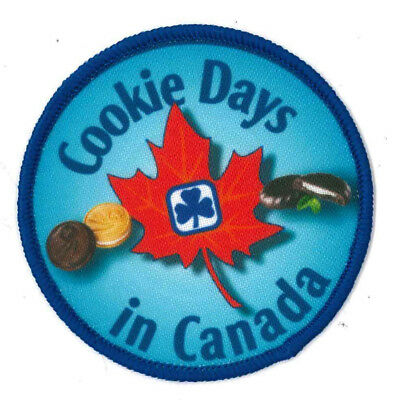 Girl Guide Scout Brownie BADGE PATCH – new! ~ Cookie Days in Canada 3""