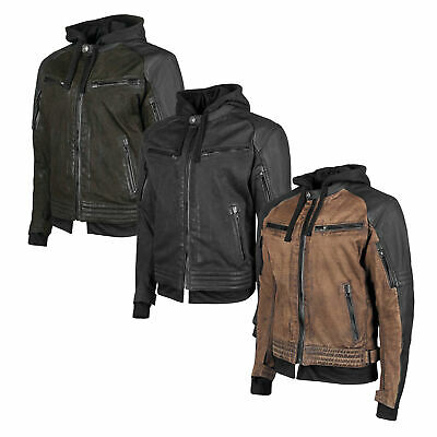Speed and Strength Straight Savage Leather/Textile Jacket with Vault™ CE Armor