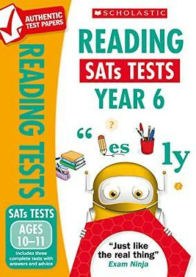 Reading Test - Year 6 National Curriculum by Graham Fletcher New Paperback Book