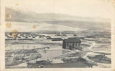 RPPC McGill, Nevada from Concentrator Mining Real Photo 1921 Vintage Postcard
