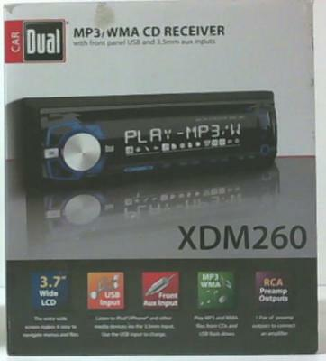 NEW OPEN BOX Dual XDM260 CD/MP3/USB Receiver with Front Aux Input $92
