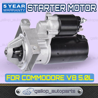 New Starter Motor For Holden Commodore 253 304 308 Vc Vh Vk Vl V8 5.0L