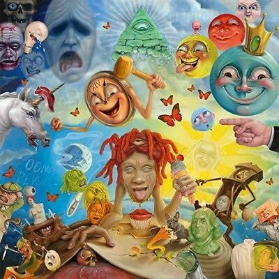 Trippie Redd - Life's a Trip [New Vinyl] Explicit, Red, Yellow, Colored Vinyl