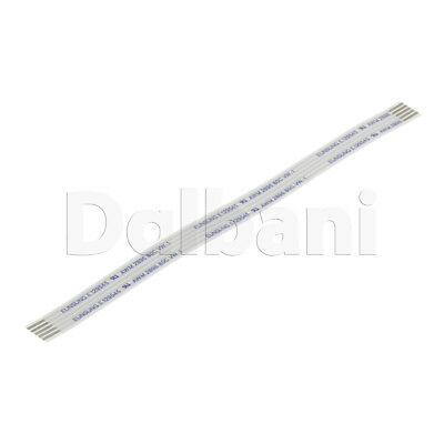 Flat Flexible Ribbon Cable Pitch 1.25 mm 8 Pin 17 mm Type A FFC