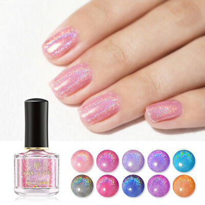 BORN PRETTY 6ml Holographic Nail Polish Glitter Shimmer Laser Nail Art Varnish