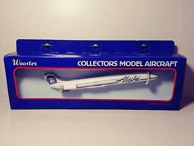 Wooster Alaska Airlines MD-80 1/250 scale