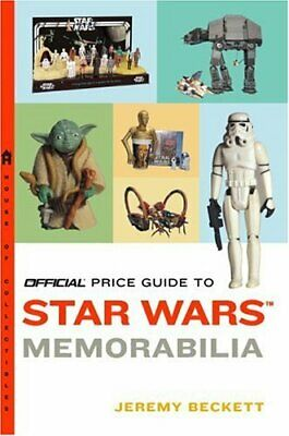 Official Price Guide to Star Wars Memorabilia by Beckett, Jeremy Book The Cheap