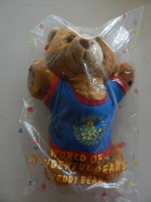 "Avon ""World of Wonderful Bears"" Teddy Bear New Vintage 1989"